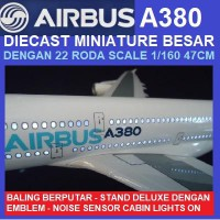 AIRBUS A380 STANDARD FACTORY LIVERY SKALA 1/160 47CM
