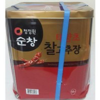Chung Jung One Gochujang / Pasta Cabe Korea 14kg (Hot Pepper Paste) (Go Send)