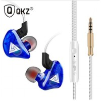 QKZ CK5 Earphone Sport Earbuds Stereo Bass With Microphone Blue