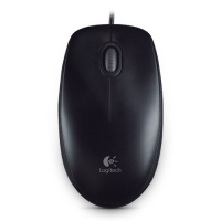 Logitech Mouse B100 Black Optical USB Mouse