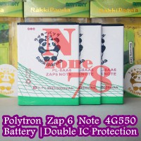 Baterai Polytron Zap 6 Note 4G550 PL-8AA6 Double IC Protection