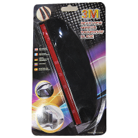 Talang air kaca spion samping (Rainproof Blade) Black tranparan