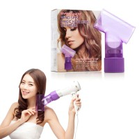[FREE ONGKIR] EyeCandy WindSpin Hair Curl Diffuser(Magic hair-Style Spin Dryer/Curler