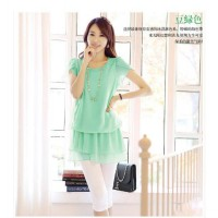 Summer new Korean dress