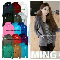 JACKET UNISEX/Jaket wanita Jacket pria★15 COLOURS ZIPPER HOODIES dan 12 COLOURS PULLOVER HOODIES