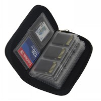 Dompet Memory Card SDHC MMC CF Micro SD Pouch isi 22 Slot