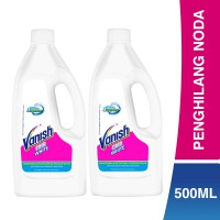 Vanish White Liquid 500 ml Bottle - 2 pcs