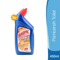 Harpic Power Plus Orange 450 ml - 3pcs
