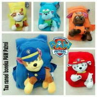 Tas Ransel Boneka Import Paw Patrol Peppa Pig Pokemon Good Dino