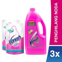 Vanish Pink & White Combo Pack
