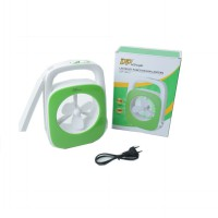 LAMPU EMERGENCY LED DENGAN KIPAS / FAN, DP-7601