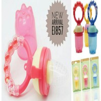 Rattle Fresh Food Feeder/Jaring Dot Bayi/Fruit Feeder Baby