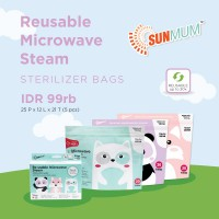 SUNMUM STEAM STERILIZER BAGS (5P)