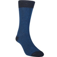 Kaos Kaki Marel Socks Men Hoover Plain Navy/Black