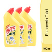 Harpic Fresh Lemon 450ml x3