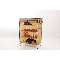 Anya-Living Rs 004 - 5t Shoe Rack - Brown