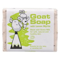 Goat Soap With Lemon Myrtle 100g Sabun Untuk Kulit Sensitif