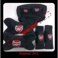 Bantal Mobil Arsenal 3in1
