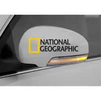 Stiker Spion Mobil National Geographic Decal Car Sticker Mirror Cover