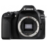 Kamera DSLR Canon EOS 80D Body - 24MP - Hitam