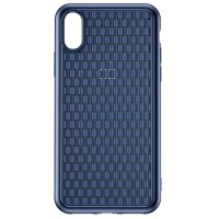 Baseus New BV Weaving Case Apple iPhone XS Max (6.5 Inch) - Biru