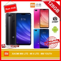 XIAOMI MI8 LITE - MI 8 LITE - MI8 YOUTH 128GB RAM 6GB 24MP - BNIB