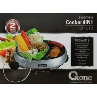 [Oxone] Teppanyaki Cooker 4in1 OX-612, Panci Shabu Shabu Electric