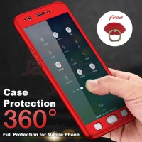 Hardcase 360 Samsung Note 8 Full Protect Cover Rounded Casing