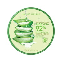 100% ORIGINAL KOREA NATURE REPUBLIC ALOE VERA [ALOE VERA][nature republic]