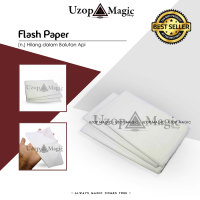 Flash Paper (Alat sulap, mainan, flash paper, tisue bakar)