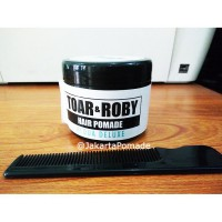 Toar and Roby Pomade Aqua Waterbased 3.5oz Free sisir