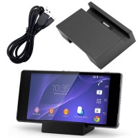 Magnetic Desktop Charging Dock Charger Cradle For Sony DK36 Xperia Z2