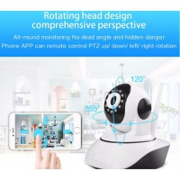 Wireless CCTV IP Camera WiFi P2P HD 720p Memory Card / Kamera Pengawas CamHi Baby Monitor Pengintai