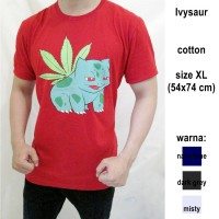Pokemon T-shirt Series For Men Size M L XL