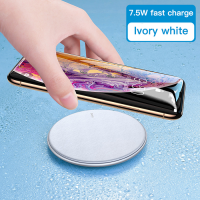 Wireless Charger Moon Shadow DIVI Qi 3.0  Leather Surface Fast Charging