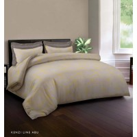 King Rabbit – Bed Cover Uk. Double 230X230 cm - Luxury Grey Motif