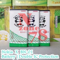 Baterai Nokia X Bn01 Bn-01 Bn 01 Double Ic Protection