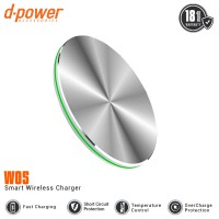 dpower W05 Wireless Charger 10W Fast charging with LED Indicator