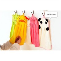 hto004 lap tangan kartun Korean cartoon cute creative towel hanging