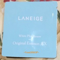 LANEIGE SACHET WHITE PLUS RENEW ORIGINAL ESSENCE_EX 1ML