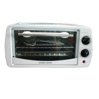 BLACK AND DECKER TRO1000BS Oven Toaster - Putih