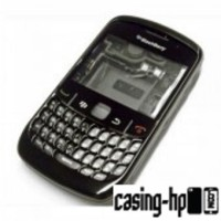 Casing case housing bb blackberry 8520 SET ORI hitam