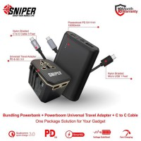 BUNDLING POWERSHOOT PD S111141 & Powerboom PD QC Gold + C to C Cable