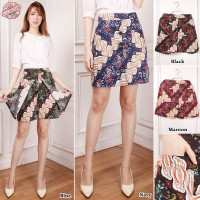 Cj collection Celana rok batik pendek hotpant wanita jumbo short pant Falisa