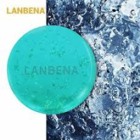 LANBENA 24-karat gold handmade soap seaweed deeply cleans, moisturizes, nourishes, whitens and whitens facial care 40gr