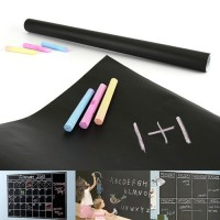 2M Wall Sticker Chalk Black Board Roll