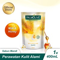 Palmolive Naturals Milk & Honey Shower Gel/Sabun Mandi 400ml