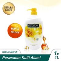 Palmolive Naturals Milk &Honey Shower Gel/Sabun Mandi Susu 1L