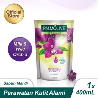 Palmolive Naturals Milk & Wild Orchid Shower Gel/Sabun Mandi 400ml