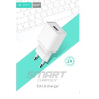 XIPIN BUL8 1A USB Charger 5V 2.1A EU Plug USB Adapter Charger For IPhone 5 6 7 IPad Tablet Samsung